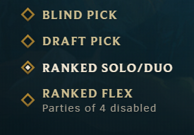 Ranked solo/duo boosting